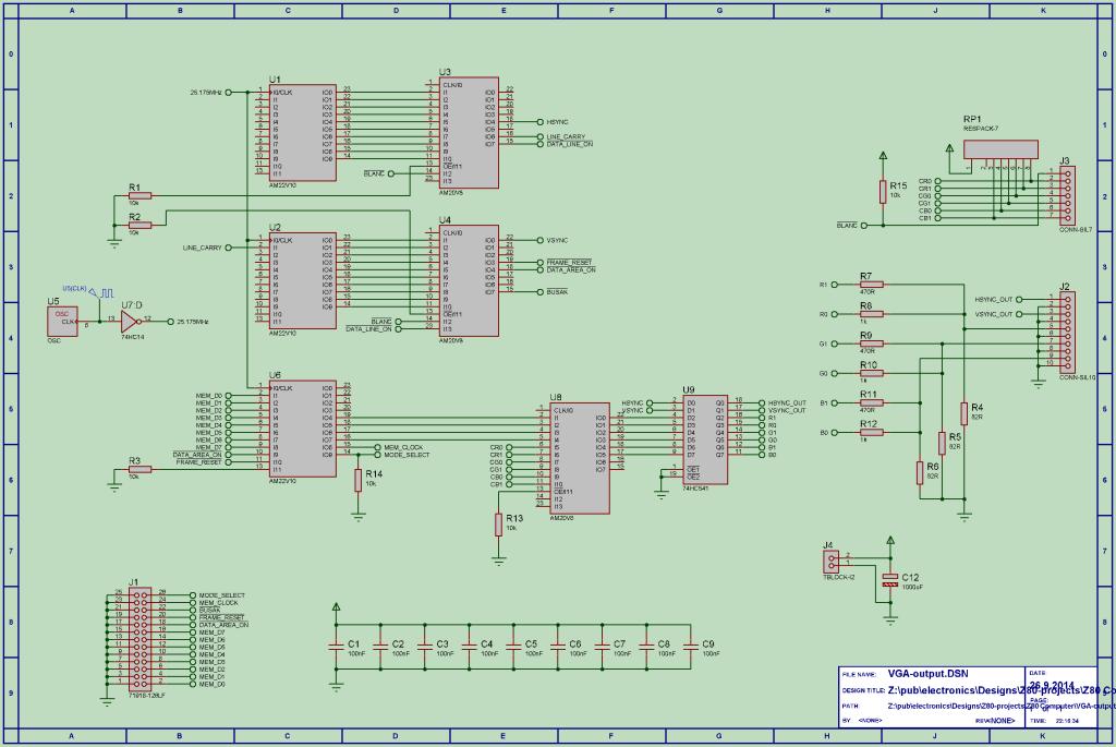 VGA-output