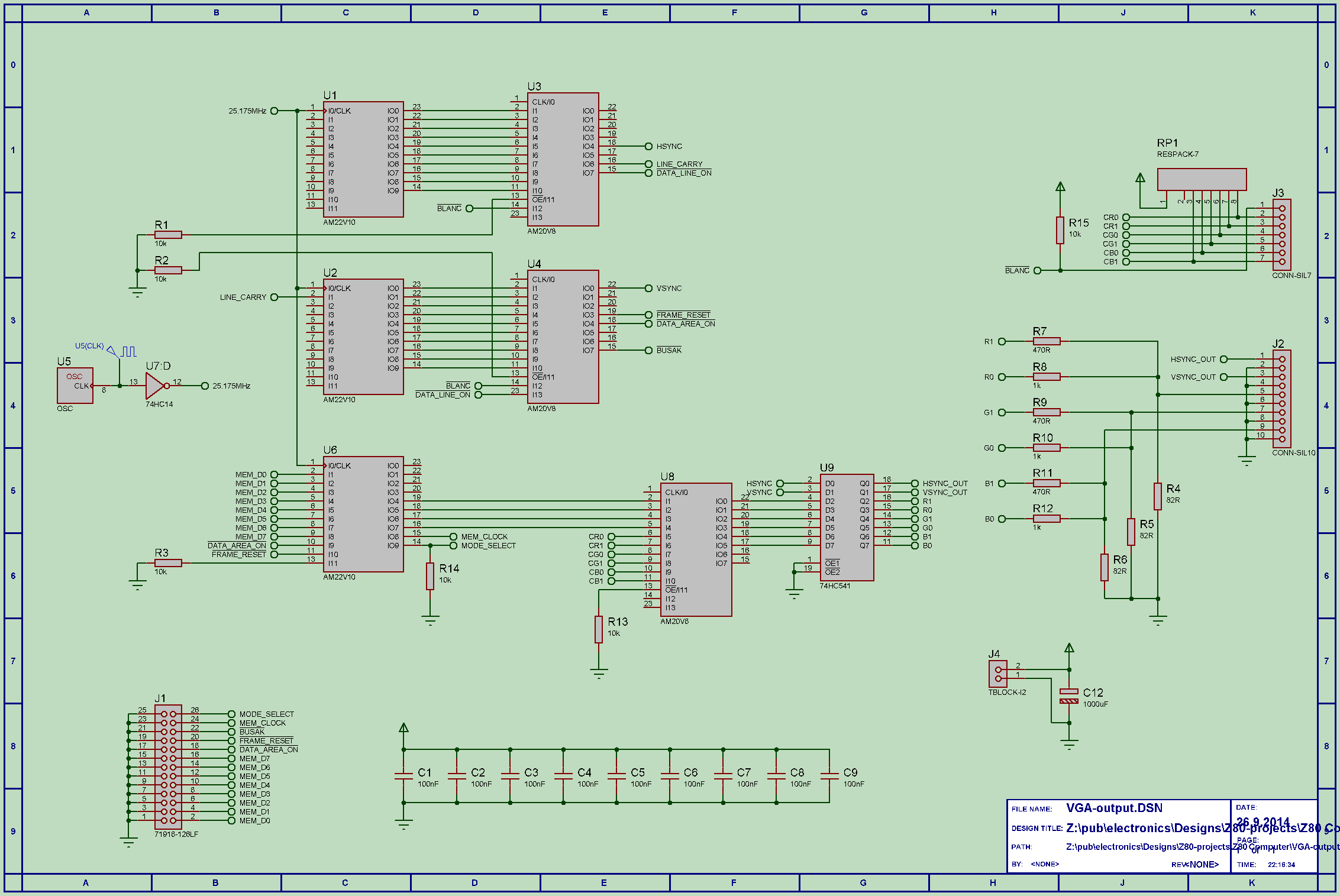 Vga Controller Schematic New Era Of Wiring Diagram Vhdl Block Free Download Zc160 Adapter Tl Dr Rh Tldr Fi Cable